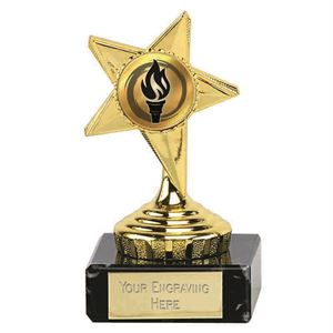 Gold Mini Star Trophy - 372A