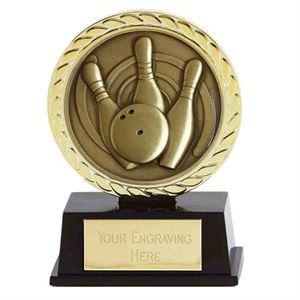Vibe Super Mini Ten Pin Bowling Trophy - PK286