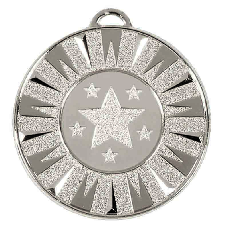 Target Flash Medal - AM932S (size: 50mm) Silver