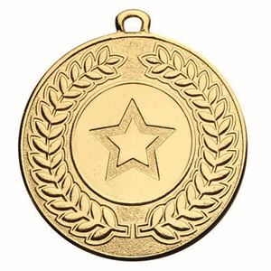 Contour Medal (size: 50mm) - AM1213.01 Gold