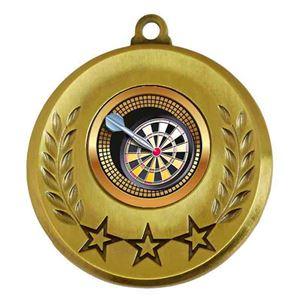 Spectrum Darts Medal - AM6031.12-014 Gold