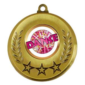 Spectrum Dance Medal - AM6031.12-227 Gold