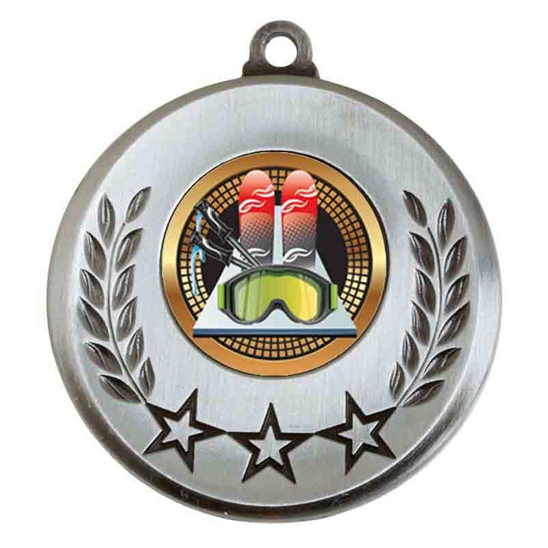 Spectrum Skiing Medal - AM6031.67-082 Silver