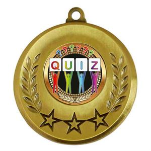 Spectrum Quiz Medal - AM6031.12-209 Gold