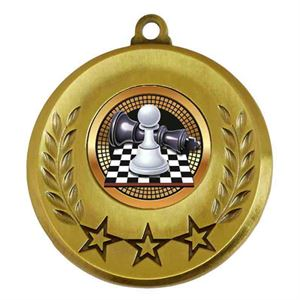 Spectrum Chess Medal - AM6031.12-011 Gold