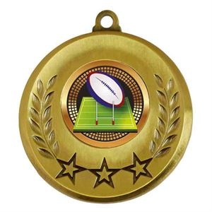 Spectrum Rugby Medal - AM6031.12-207 Gold
