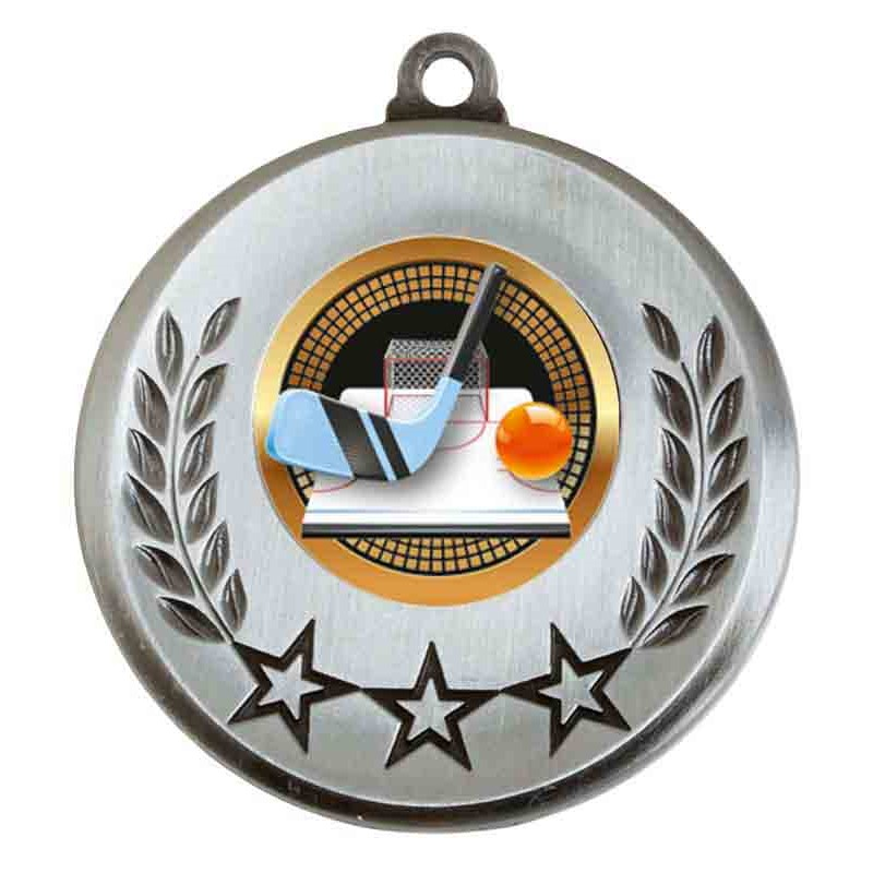 Spectrum Ice Hockey Medal - AM6031.67-021 Silver