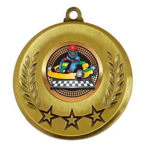 Spectrum Go Karting Medal - AM6031.12-029 Gold