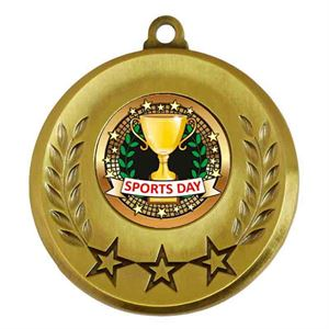 Spectrum Sports Day Medal - AM6031.12-101 Gold