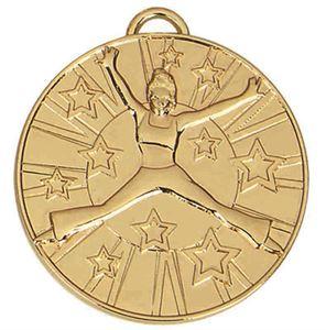 Target Dance Medal - AM1015.01 Gold