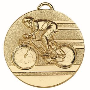 Target Cycling Medal - AM1138.01 Gold