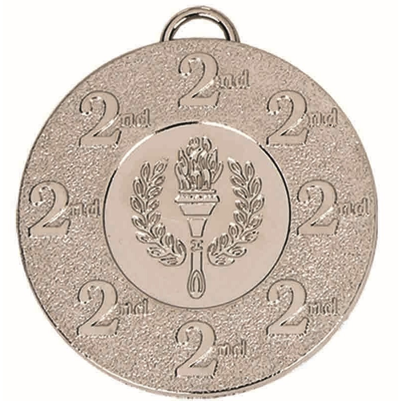 Target 2nd Place Medal - AM987S Silver