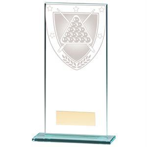 Millennium Snooker/ Pool Jade Glass Award - CR20388E