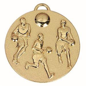 Target Basketball Medal - AM990G Gold