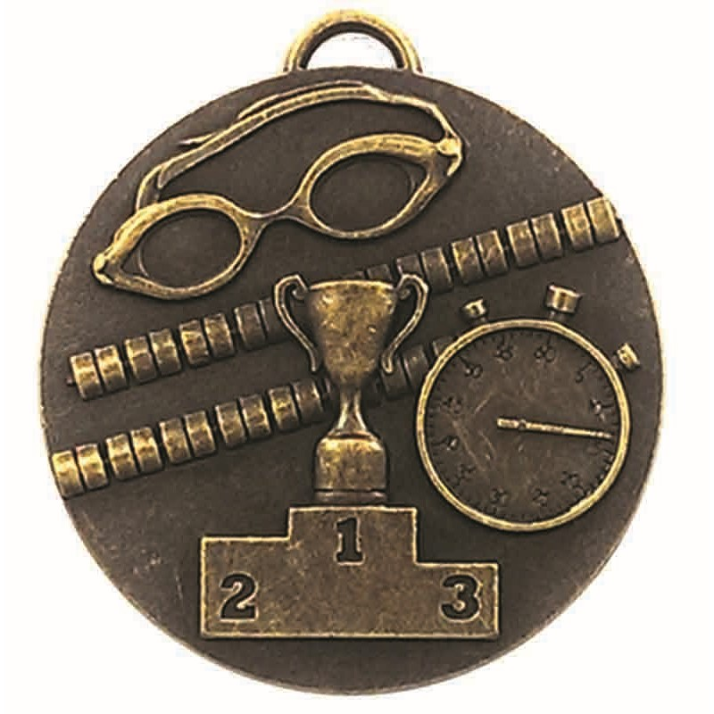Target Swimming Medal - AM1013.12