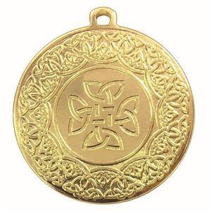 Iron Celtic Medal - AM1172.01 Gold