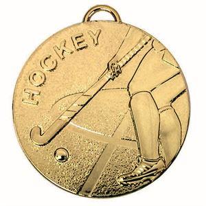Target Hockey Medal - AM985G Gold