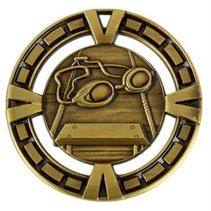 Varsity Swimming Medal - AM6006.12 Gold