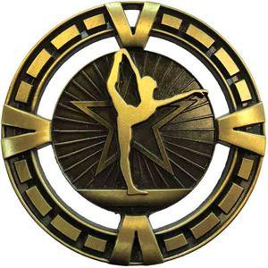 Varsity Gymnastics Medal - AM6011.12 Gold