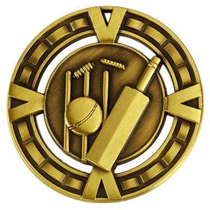 Varsity Cricket Medal - AM6046.12 Gold