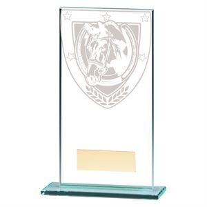 Millennium Equestrian Jade Glass Award - CR20375