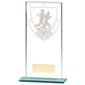 Millennium Running Jade Glass Award - CR20390