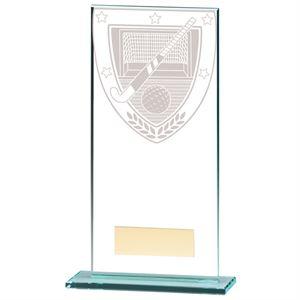 Millennium Hockey Jade Glass Award - CR20383
