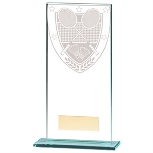 Millennium Badminton Jade Glass Award - CR20369