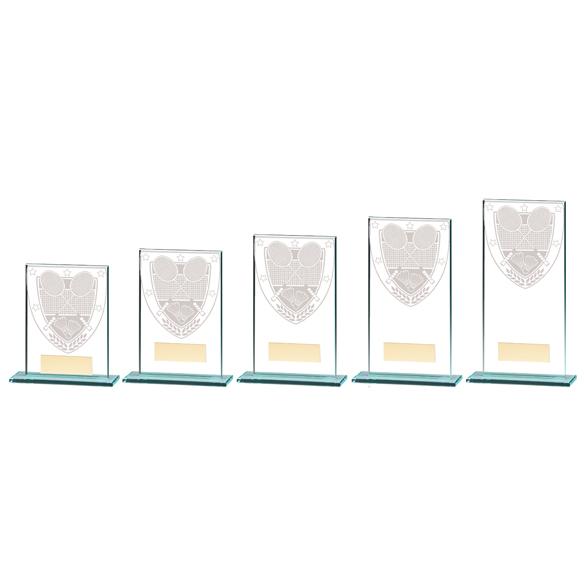 Millennium Badminton Jade Glass Award - CR20369 5 sizes