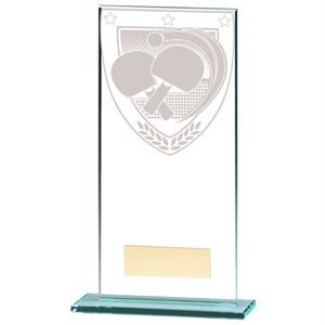 Millennium Table Tennis Jade Glass Award - CR20392