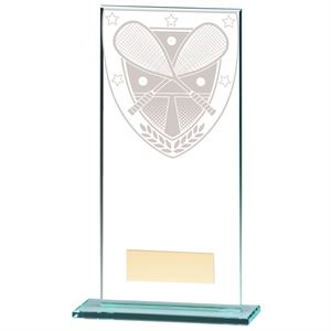 Millennium Squash Jade Glass Award - CR20391