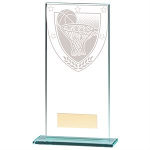 Millennium Basketball Jade Glass Award - CR20370