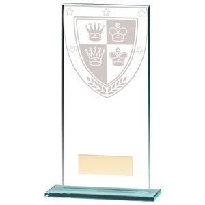 Millennium Chess Jade Glass Award - CR20371