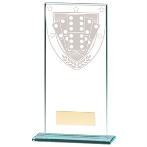 Millennium Dominoes Jade Glass Award - CR20374