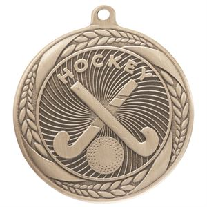 Gold Typhoon Hockey Medal (55mm) - MM20447G