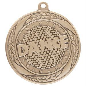 Gold Typhoon Dance Medal (55mm)- MM20454G