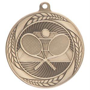 Gold Typhoon Tennis Medal (55mm) - MM20441G