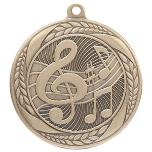 Gold Typhoon Music Medal (55mm) - MM20446G