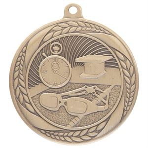Gold Typhoon Swimming Medal (55mm) - MM20453G
