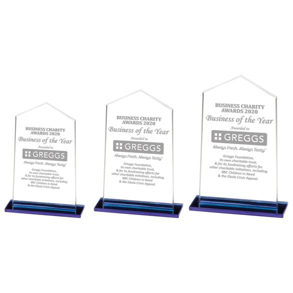 Downton Glass Award - CR20360 3 sizes