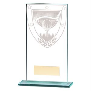 Millennium Golf Jade Glass Award - CR20379
