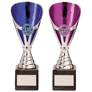 Rising Stars Silver Trophy - Blue or Purple - TR20538/TR20539