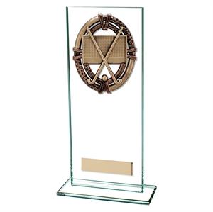 Maverick Legacy Glass Ice Hockey Trophy - Bronze