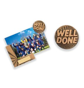Well Done Photo Fridge Magnet - RK069