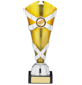 Saltire Trophy Silver & Gold - A0981