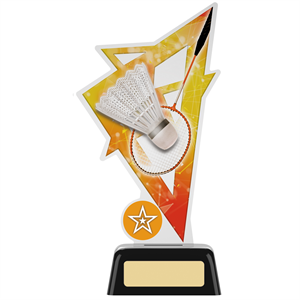 Trinity Acrylic Badminton Trophy - PK195